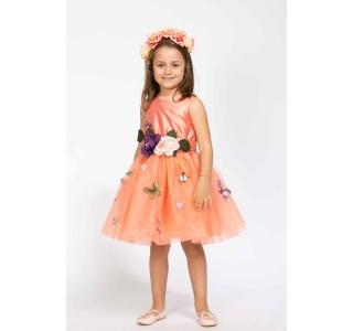 Rochie extensibilă și reglabilă Prințesa Primavera/ORANGE