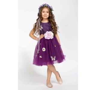 Rochie extensibilă și reglabilă Prințesa Primavera/PURPLE