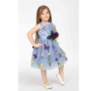 Rochie extensibilă și reglabilă Prințesa Primavera/SKY BLUE