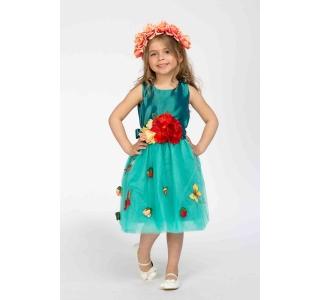 Rochie extensibilă și reglabilă Prințesa Primavera/BRIGHT BLUE