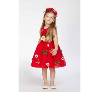 Rochie extensibilă și reglabilă Prințesa Primavera/BRIGHT RED