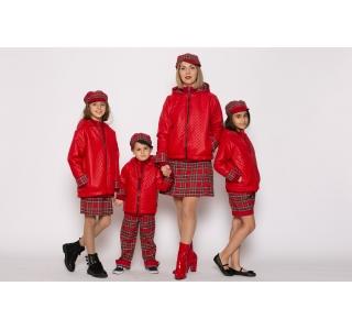 Set geci impermeabile roșii...
