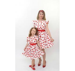 Set rochite mama-fiica cu...