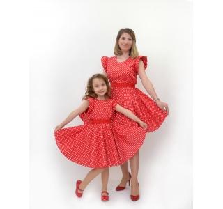 Set rochii mama fiica cu...