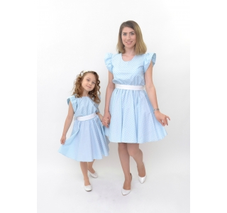 Set rochii mama fiica clos...