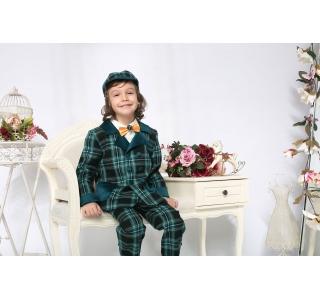 Pantaloni copii extensibili si reglabili in talie Titus Carouri Botez