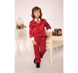Pantaloni copii extensibili si reglabili in talie Titus Rosu Botez
