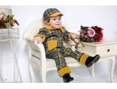 Pantaloni copii extensibili si reglabili in talie Titus Catifea Botez