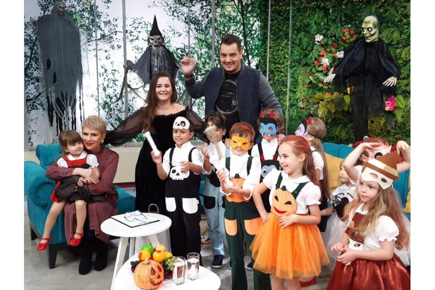 Colectia Costume  de Halloween pentru copii prezentata la TEO SHOW Kanal D